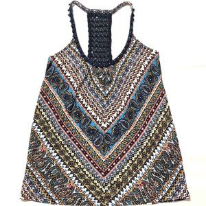 Lucky Brand Women's Multicolor Tank Top Size XS
